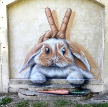 Yaratıcı grafiti Sokaklara İndi