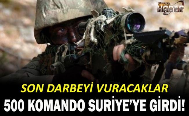 Kayseri'den 500 komando El Bab'a sevk edildi