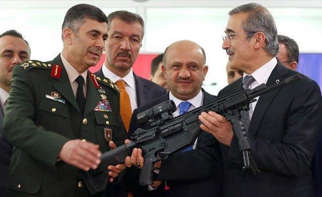 Milli Piyade Tüfeği TSK'ya teslim edildi