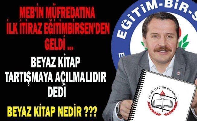 Müfredata İlk İtiraz EĞİTİMBİRSEN'DEN Geldi