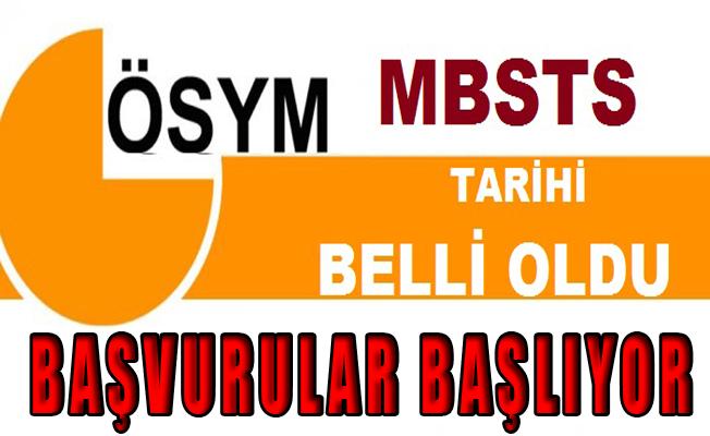 2017 MBSTS Başvuruları