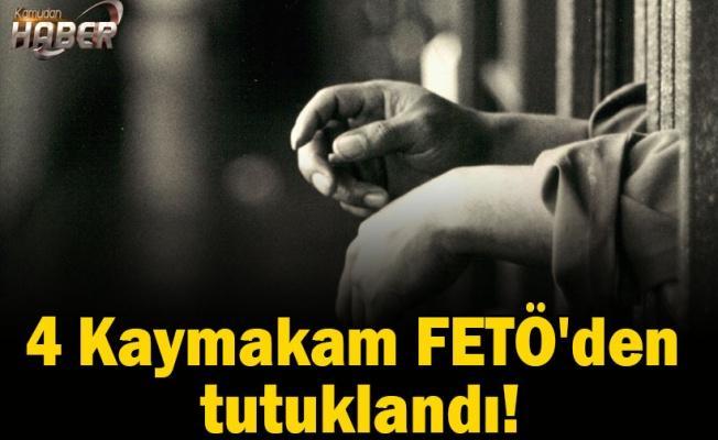4 Kaymakam FETÖ'den tutuklandı!