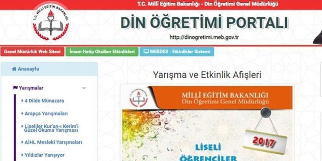 MEB, 'Din Öğretimi Portalı' hazırladı