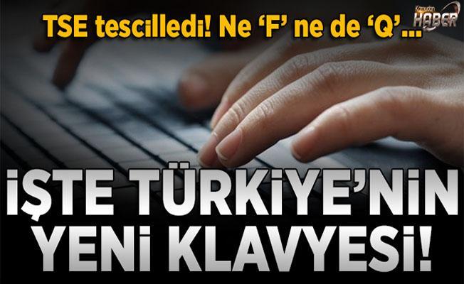 'E klavye' TSE tarafından tescillendi.