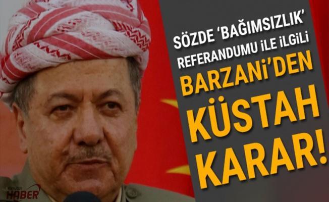 Barzani: Referanduma gidiyoruz