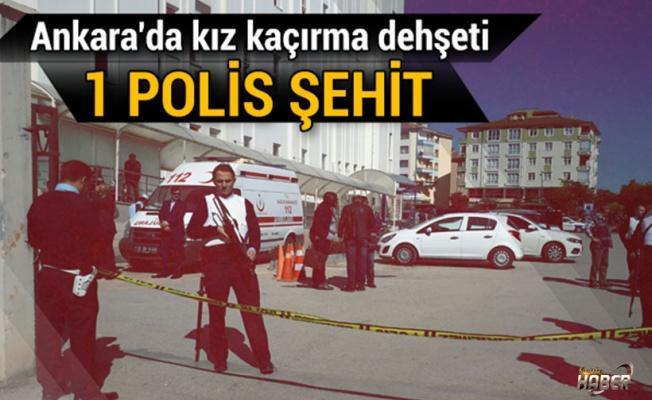 Ankara'da hastanede silahlı çatışma: 1 polis şehit