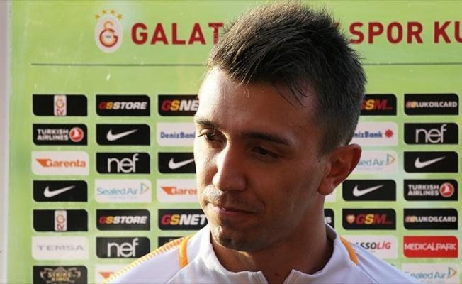 'Galatasaray'da olmaktan dolayı inanılmaz derece mutluyum'