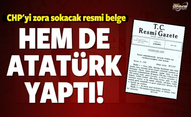 Yeni düzenleme, CHP'yi zora soktu!