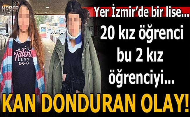 İzmir'de lisede dehşet!