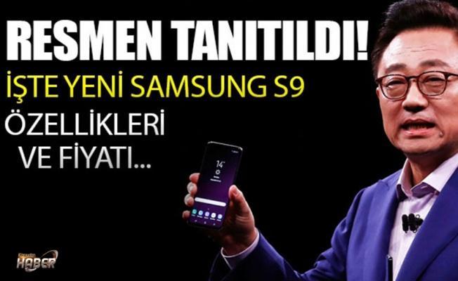Samsung Galaxy S9, S9+ resmen tanıtıldı