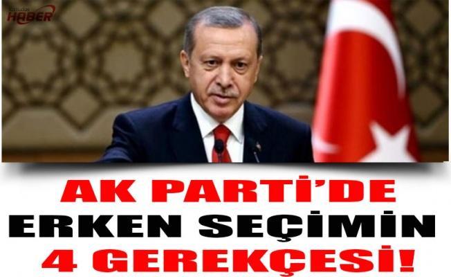 AK Parti'de erken seçimin 4 gerekçesi