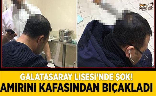 Galatasaray Lisesi'nde şok!
