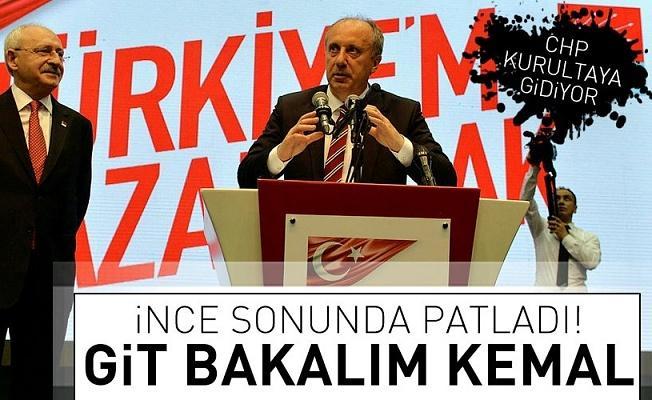 Muharrem İnce'den Kılıçdaroğlu'na sert mesaj