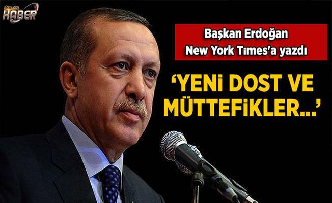 Erdoğan, New York Times'a yazdı