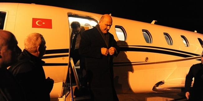 Bakan Soylu, Trabzon'a geldi