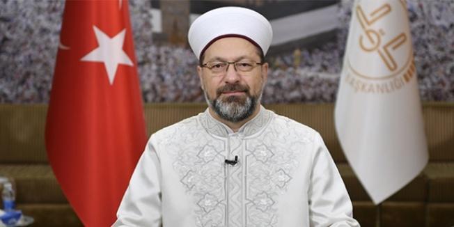 Ali Erbaş'tan 'ezana ve bayrağa saygı' vurgusu