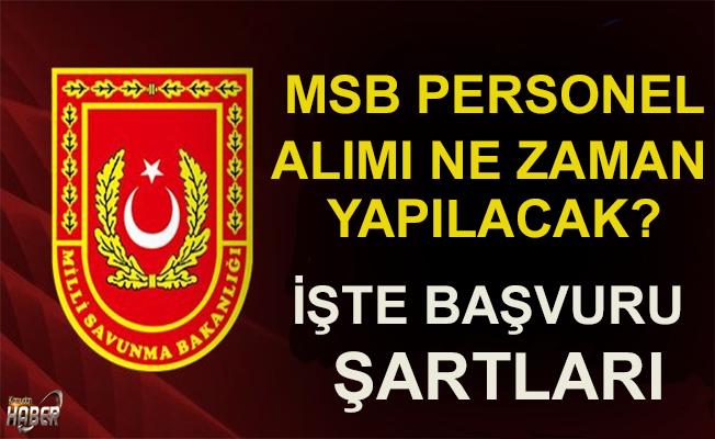 Genelkurmay Başkanlığı  personel alımı MSB personel alımı 2019