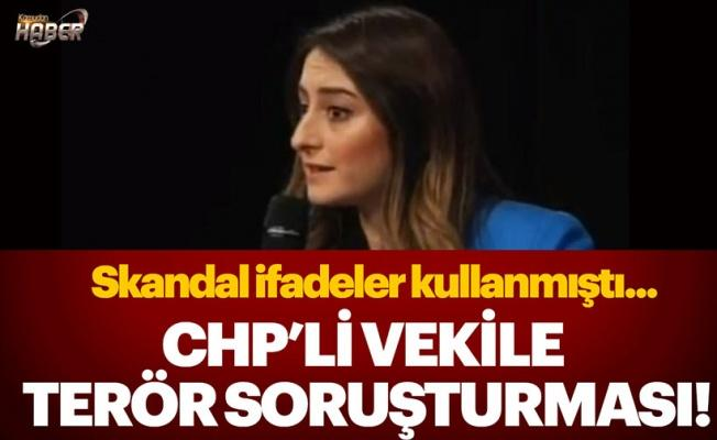 CHP'li Bankoğlu'na 'terör örgütü propagandası'ndan soruşturma