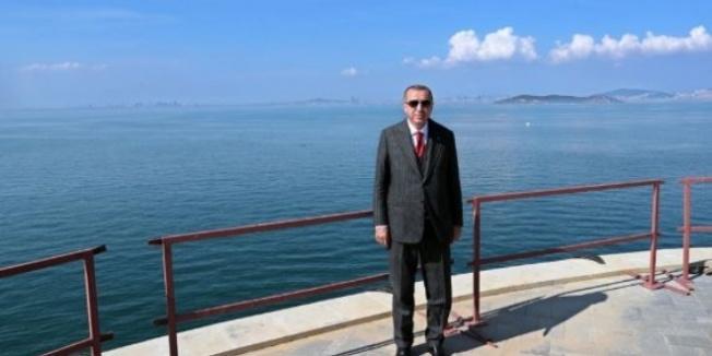 Cumhurbaşkanı Erdoğan'dan Yassıada'ya ziyaret