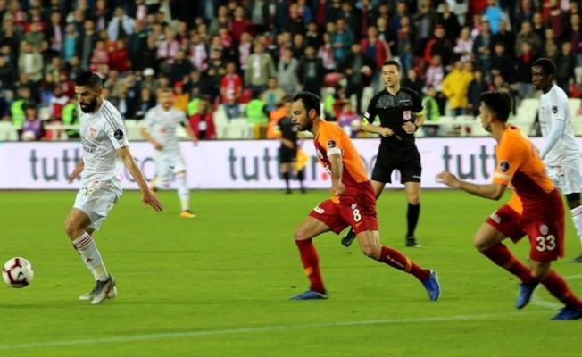 Galatasaray Sivas'ta yenildi