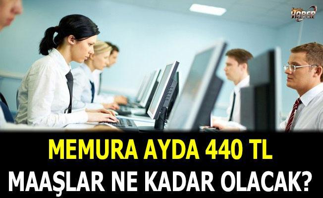 Memura ayda 440 TL!.