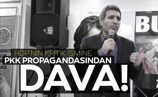 Eski HDP'li vekil Erdal Ataş'a PKK propagandasından dava