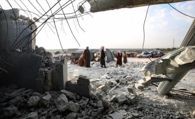Rusya'dan İdlib'de çadır kampına saldırı