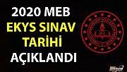 2020 MEB EKYS SINAV TARİHİ AÇIKLANDI